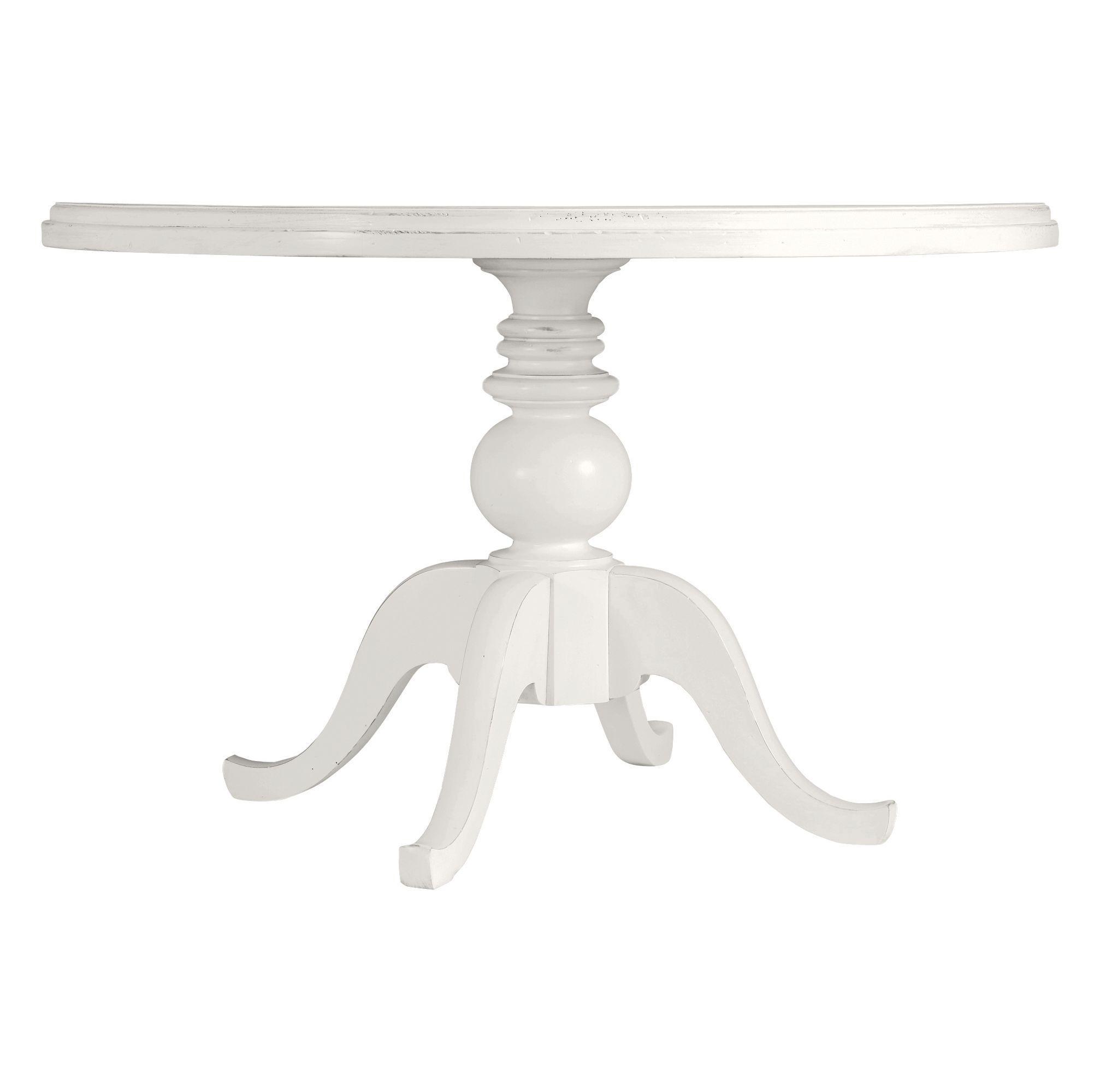 Stanley Furniture Coastal Living Retreat Round Pedestal Table, Painted Top - Item Number: 411-21-37