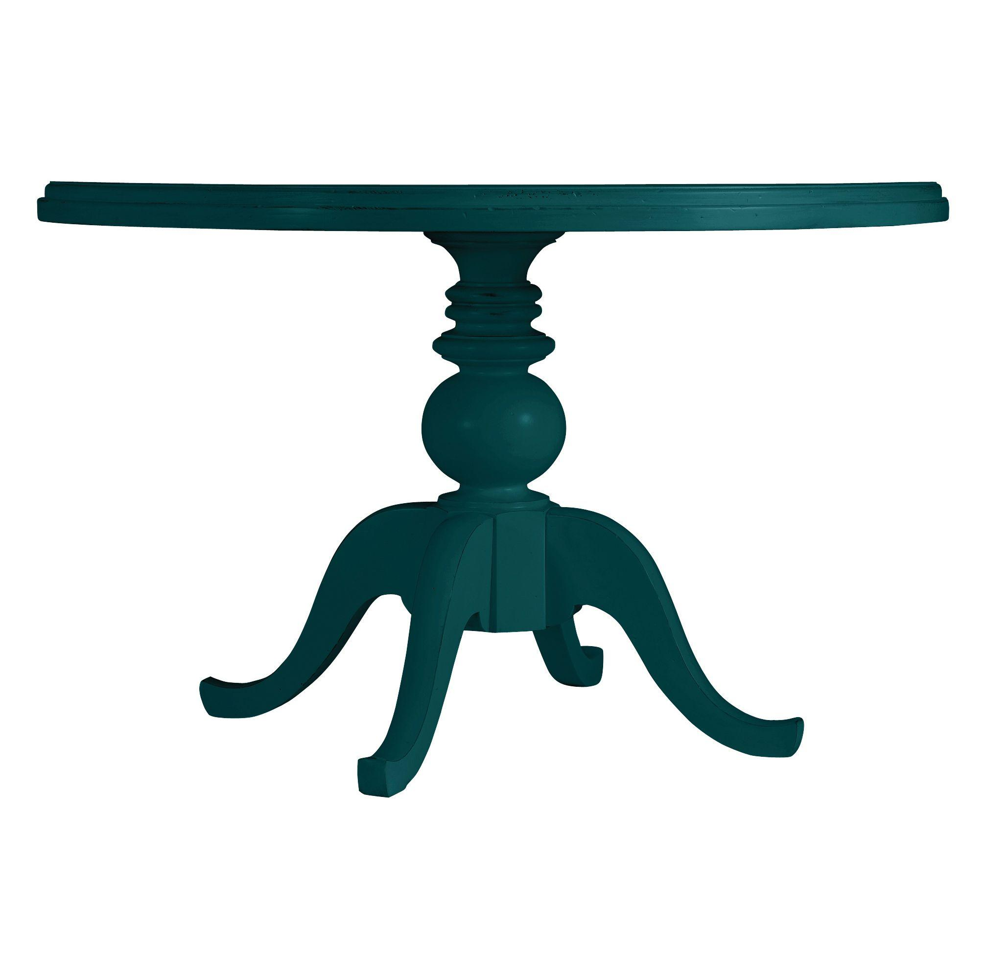 Stanley Furniture Coastal Living Retreat Round Pedestal Table, Painted Top - Item Number: 411-41-37