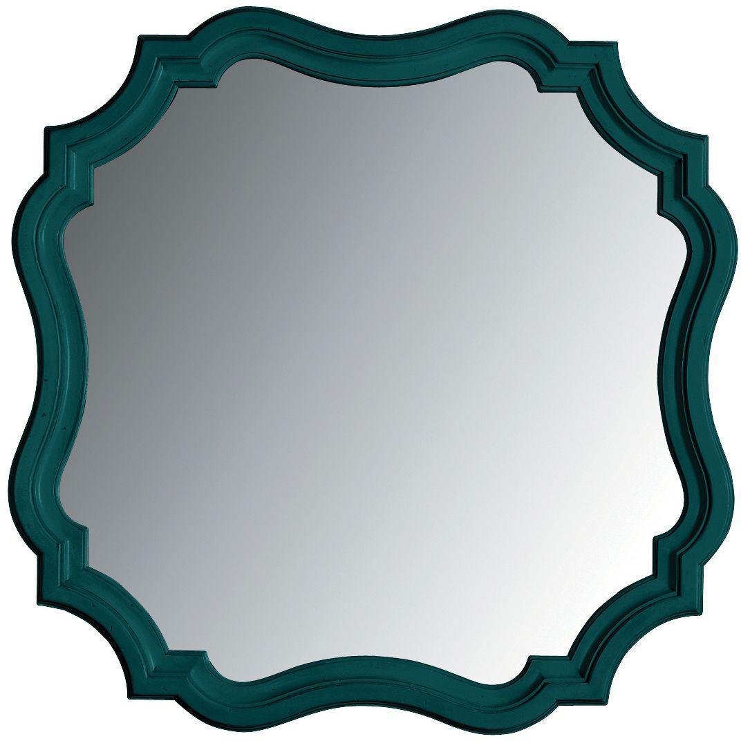 Stanley Furniture Coastal Living Retreat Piecrust Mirror - Item Number: 411-43-30