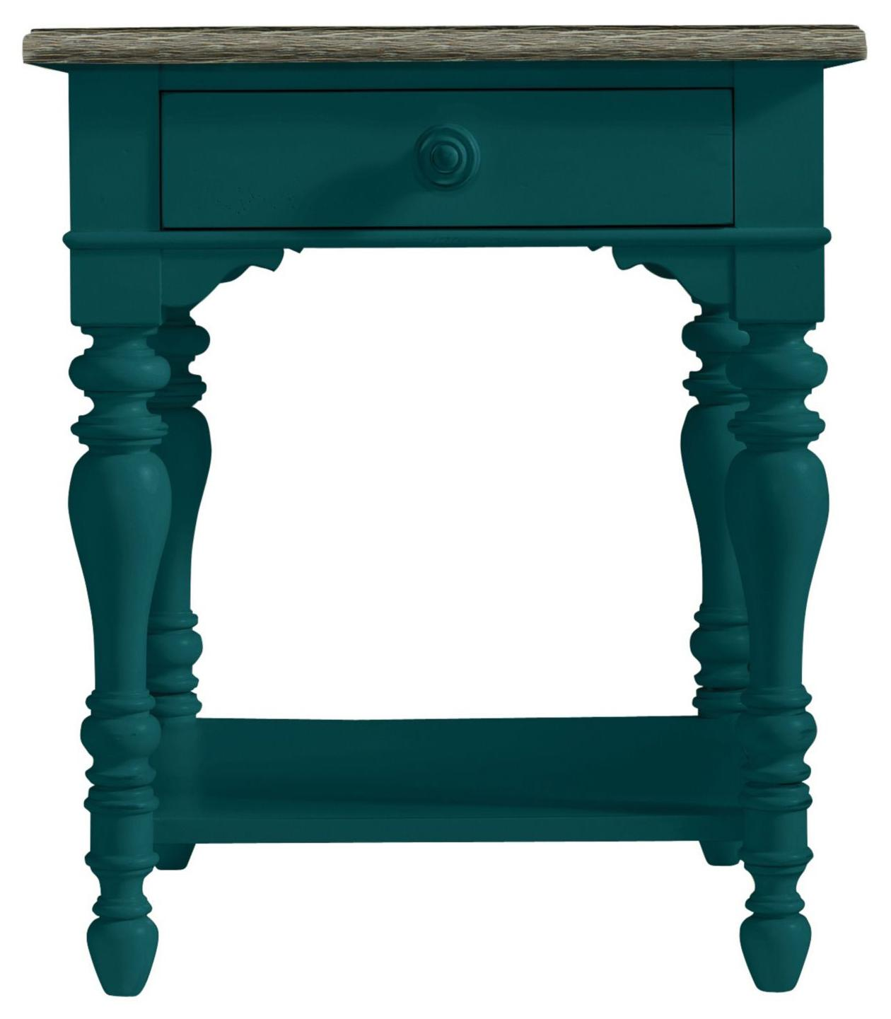 Stanley Furniture Coastal Living Retreat Lamp Table - Item Number: 411-45-09