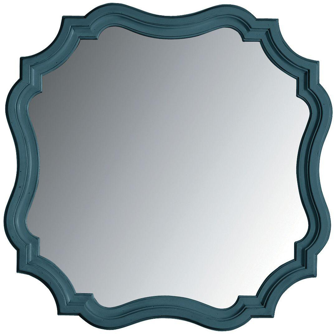 Stanley Furniture Coastal Living Retreat Piecrust Mirror - Item Number: 411-53-30