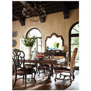 Stanley Furniture Costa del Sol Formal Dining Room Group