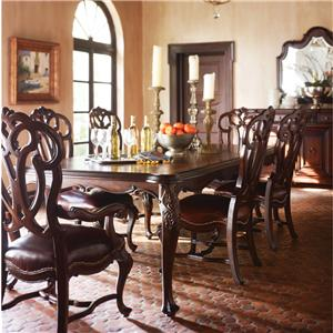 Stanley Furniture Costa Del Sol 7 Piece Dining Set Room I