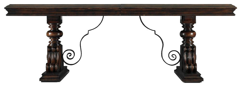 Stanley Furniture Costa del Sol Palazzo Principale Marquetry Dining Table - Item Number: 971-11-36