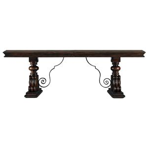 Stanley Furniture Costa del Sol Palazzo Principale Marquetry Dining Table