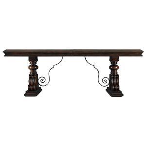 Stanley Furniture Costa del Sol Palazzo Principale Marquetry Dining Table