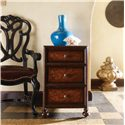 Stanley Furniture Costa del Sol Three Drawer Chairside Chest