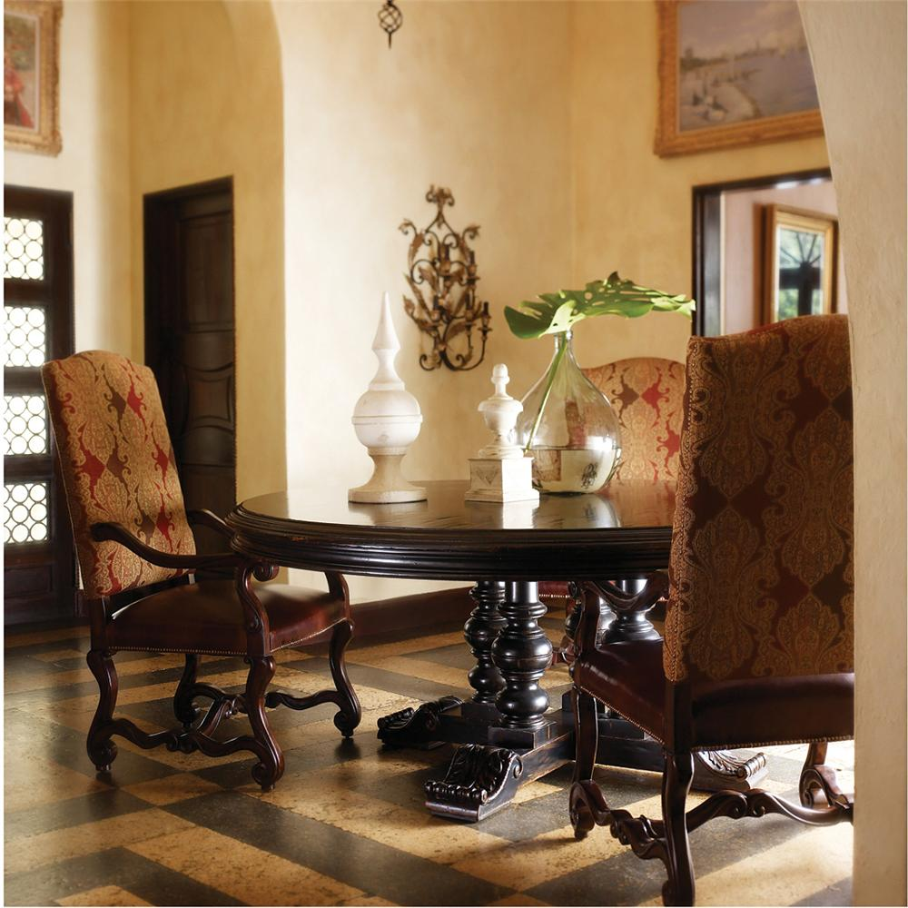 Stanley Furniture Costa del Sol 5 Piece Dining Set - Item Number: 971-81-38+4x11-75