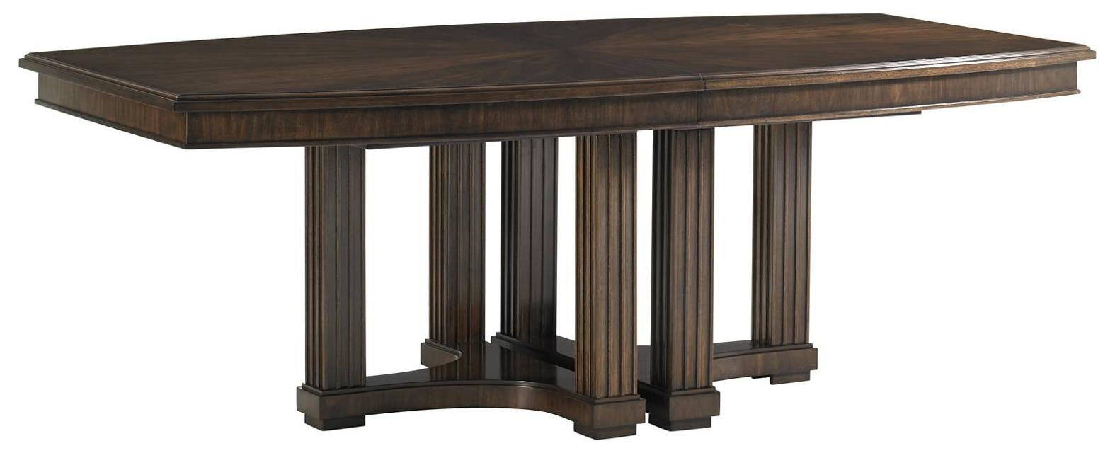 Stanley Furniture Crestaire Lola Double Pedestal Table - Item Number: 436-11-36