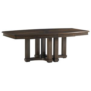 Stanley Furniture Crestaire Lola Double Pedestal Table