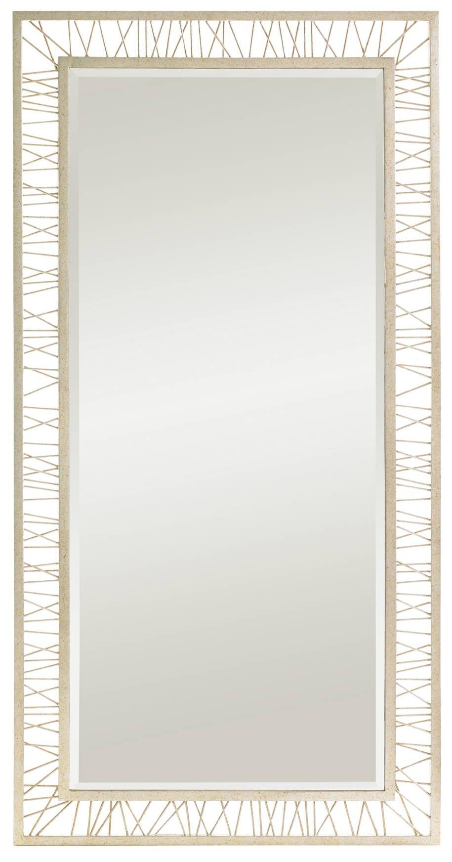 Stanley Furniture Crestaire Palm Canyon Floor Mirror - Item Number: 436-43-34