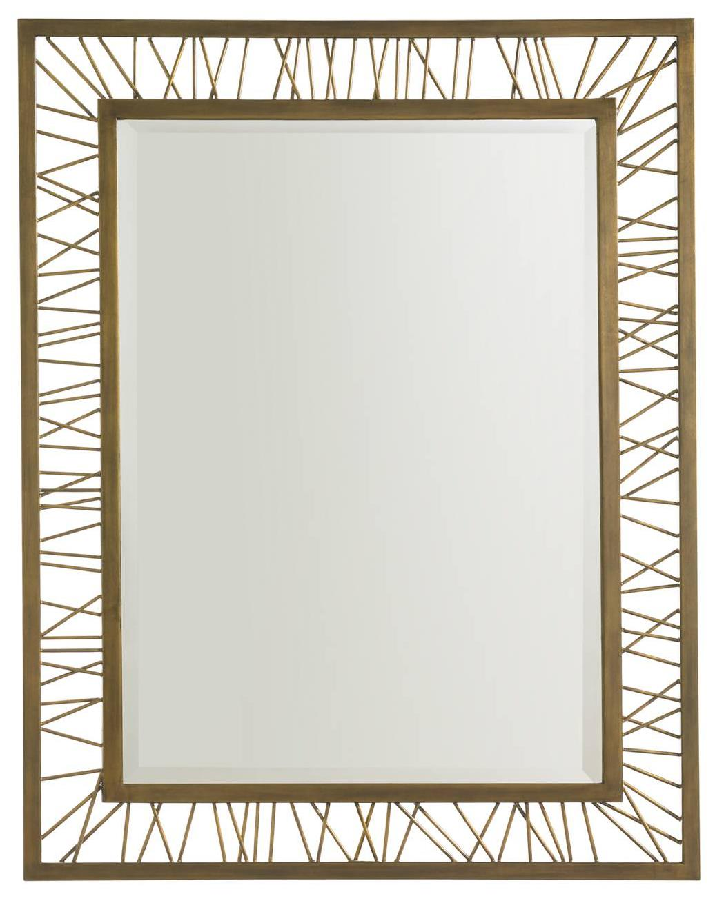 Stanley Furniture Crestaire Palm Canyon Rectangular Mirror - Item Number: 436-53-30