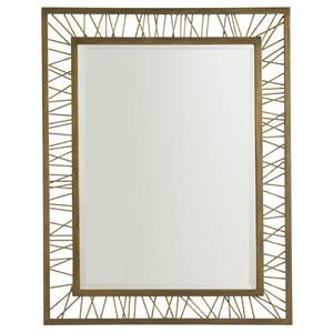 Stanley Furniture Crestaire Palm Canyon Rectangular Mirror