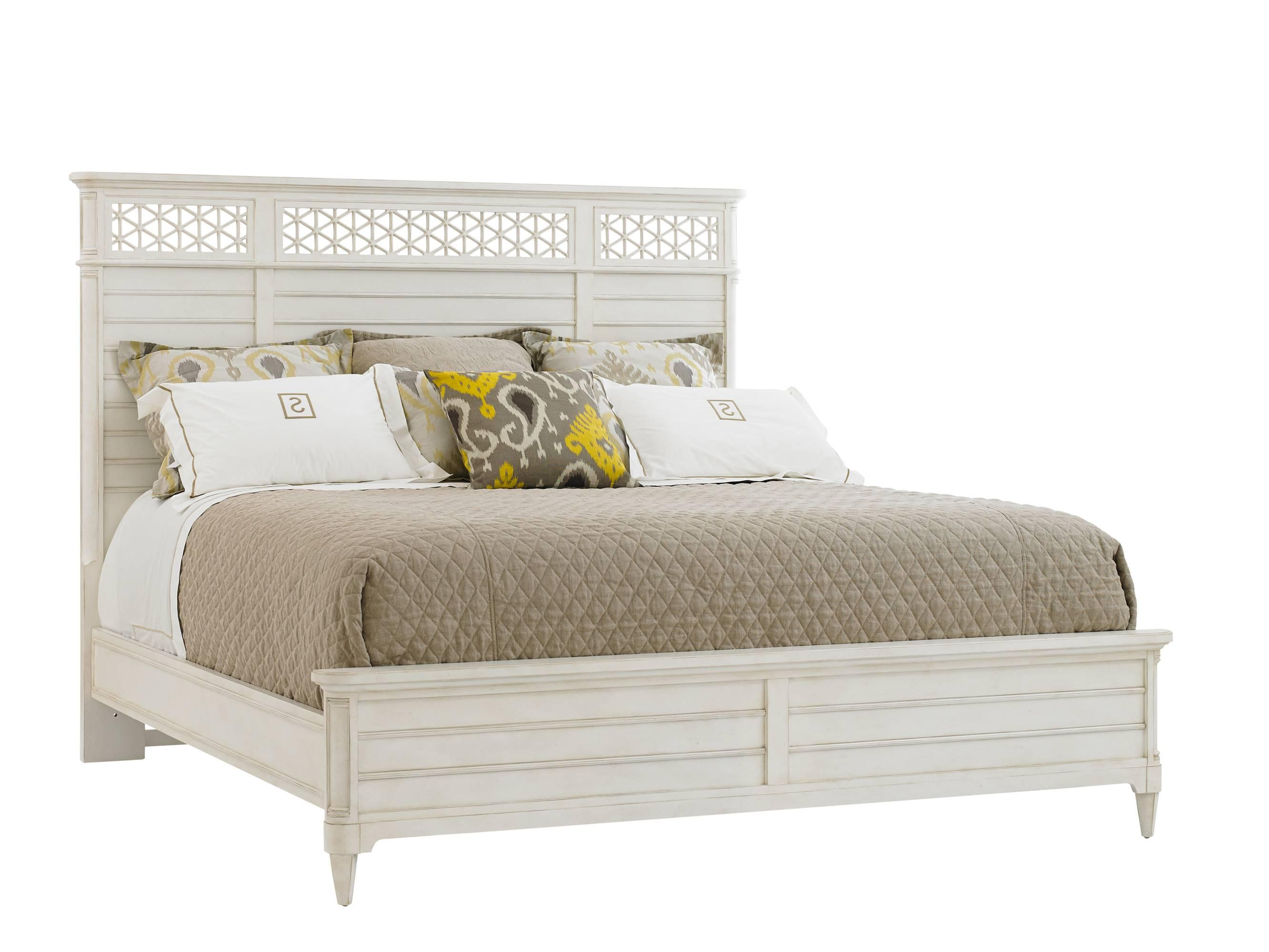 Cypress Grove  King Wood Panel Bed by Stanley Furniture at Baer's Furniture