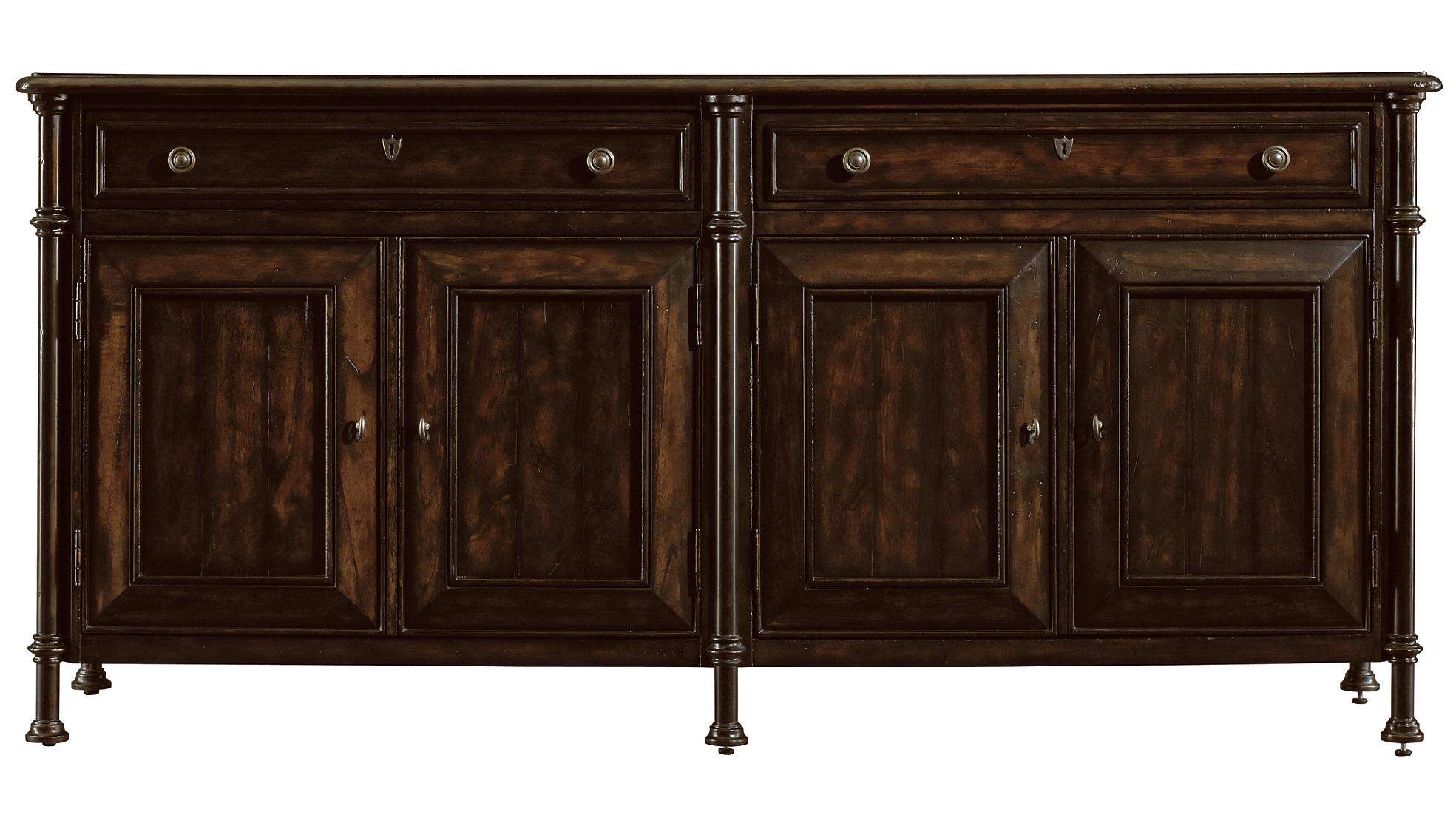 Stanley Furniture European Farmhouse Campagne Cabinet - Item Number: 018-11-05