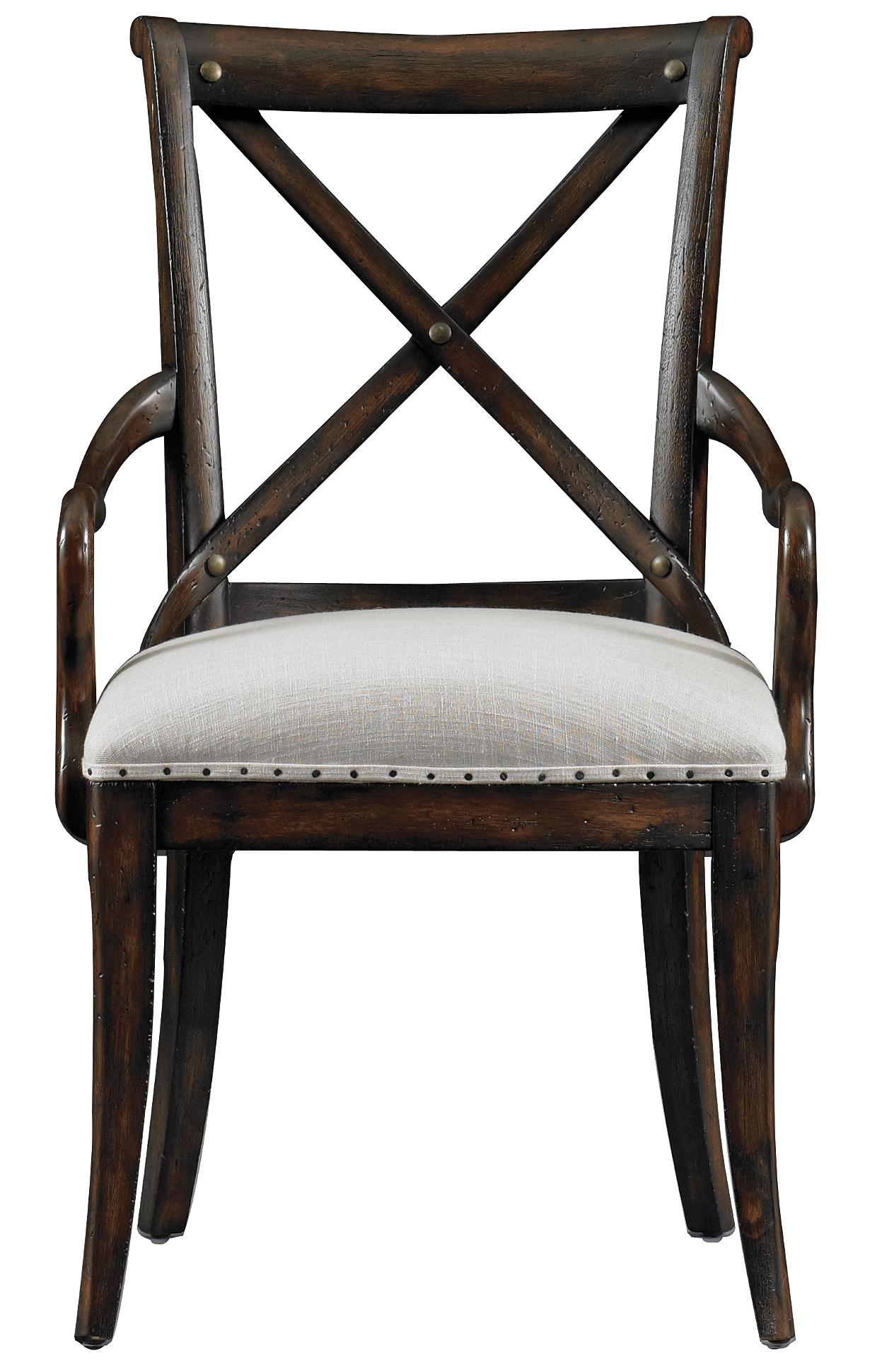 Stanley Furniture European Farmhouse Fairleigh Fields Host Chair - Item Number: 018-11-70