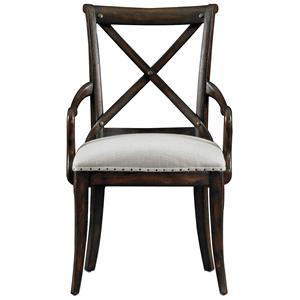 Stanley Furniture European Farmhouse Fairleigh Fields Host Chair
