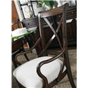 Stanley Furniture European Farmhouse Fairleigh Fields Host Chair - The Simple Lines of Thonet Bentwood Date back to 1830s