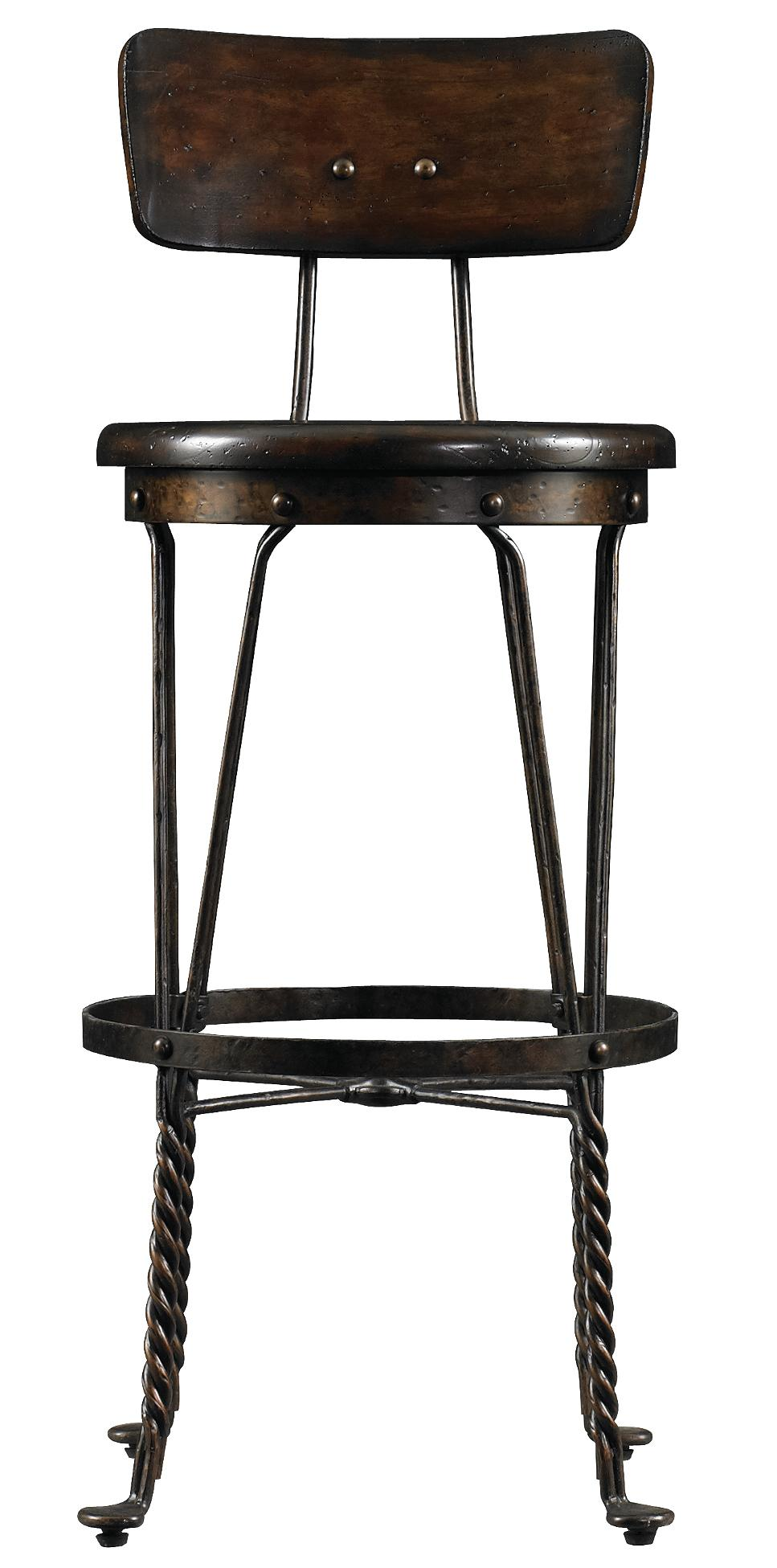 Stanley Furniture European Farmhouse Artisan's Apprentice Barstool - Item Number: 018-11-83