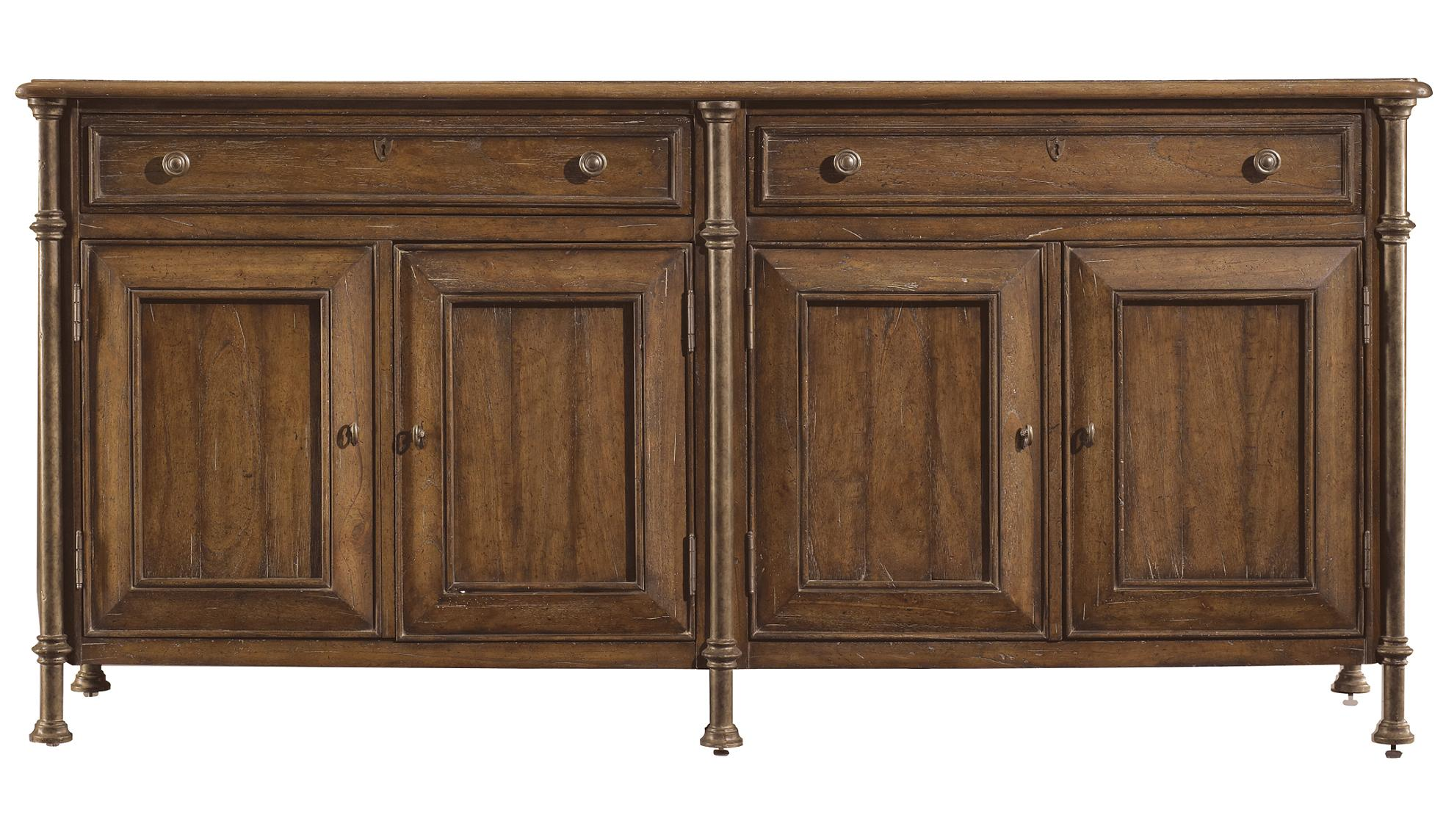Stanley Furniture European Farmhouse Campagne Cabinet - Item Number: 018-61-05