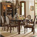 Stanley Furniture European Farmhouse 7 Piece Set - Item Number: 018-61-32+2x71+4x61