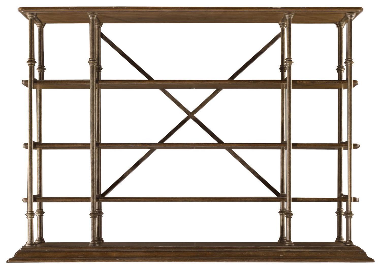 Stanley Furniture European Farmhouse L'Acrobat Open Air Shelf - Item Number: 018-61-51