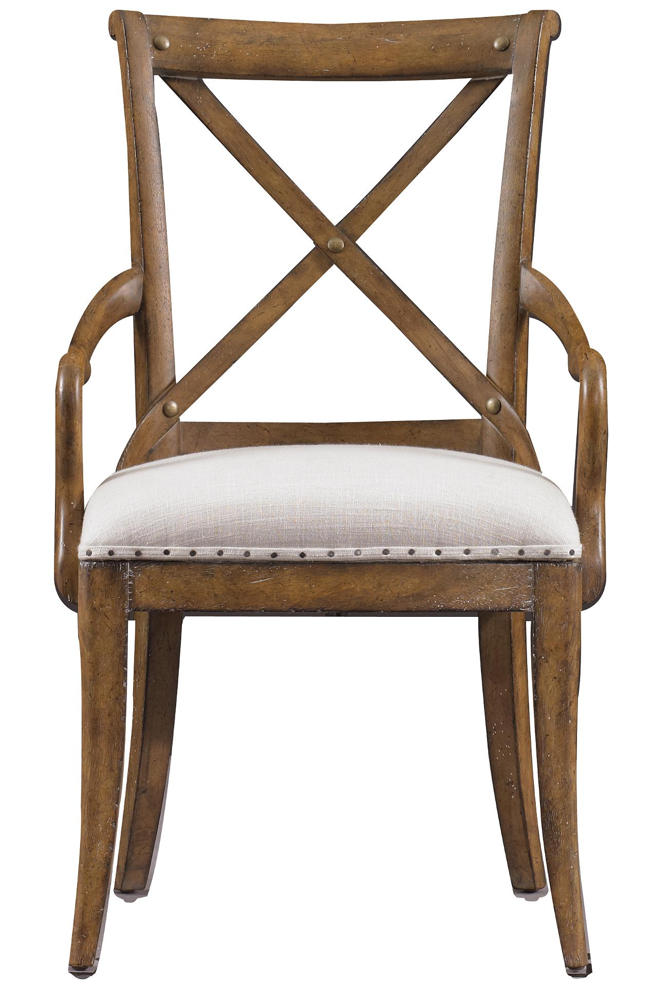Stanley Furniture European Farmhouse Fairleigh Fields Host Chair - Item Number: 018-61-70