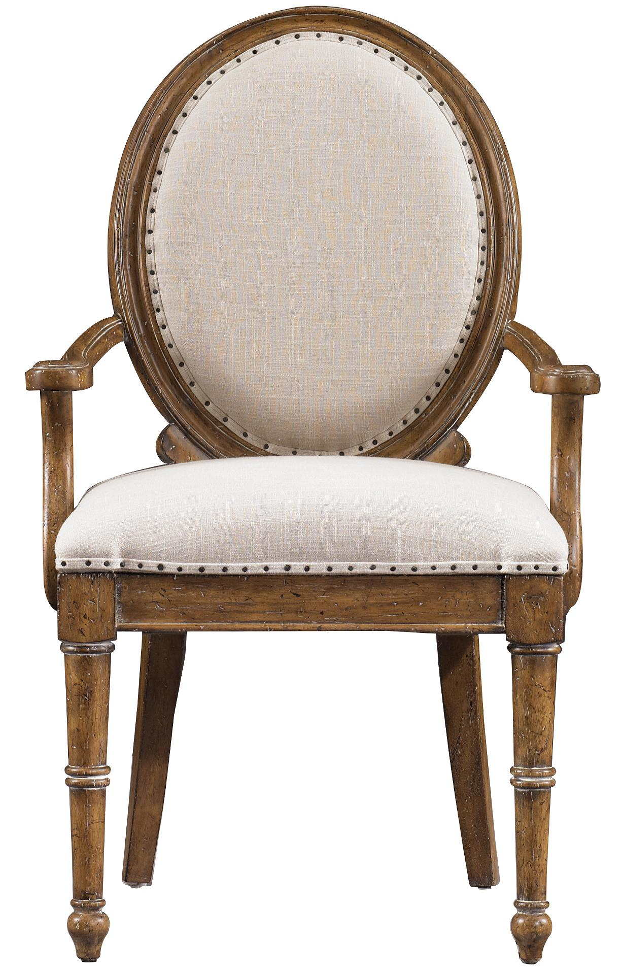 Stanley Furniture European Farmhouse Million Stars Hostess Chair - Item Number: 018-61-71