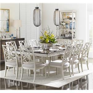 Stanley Furniture Fairlane 11-Piece Rectangular Table Set