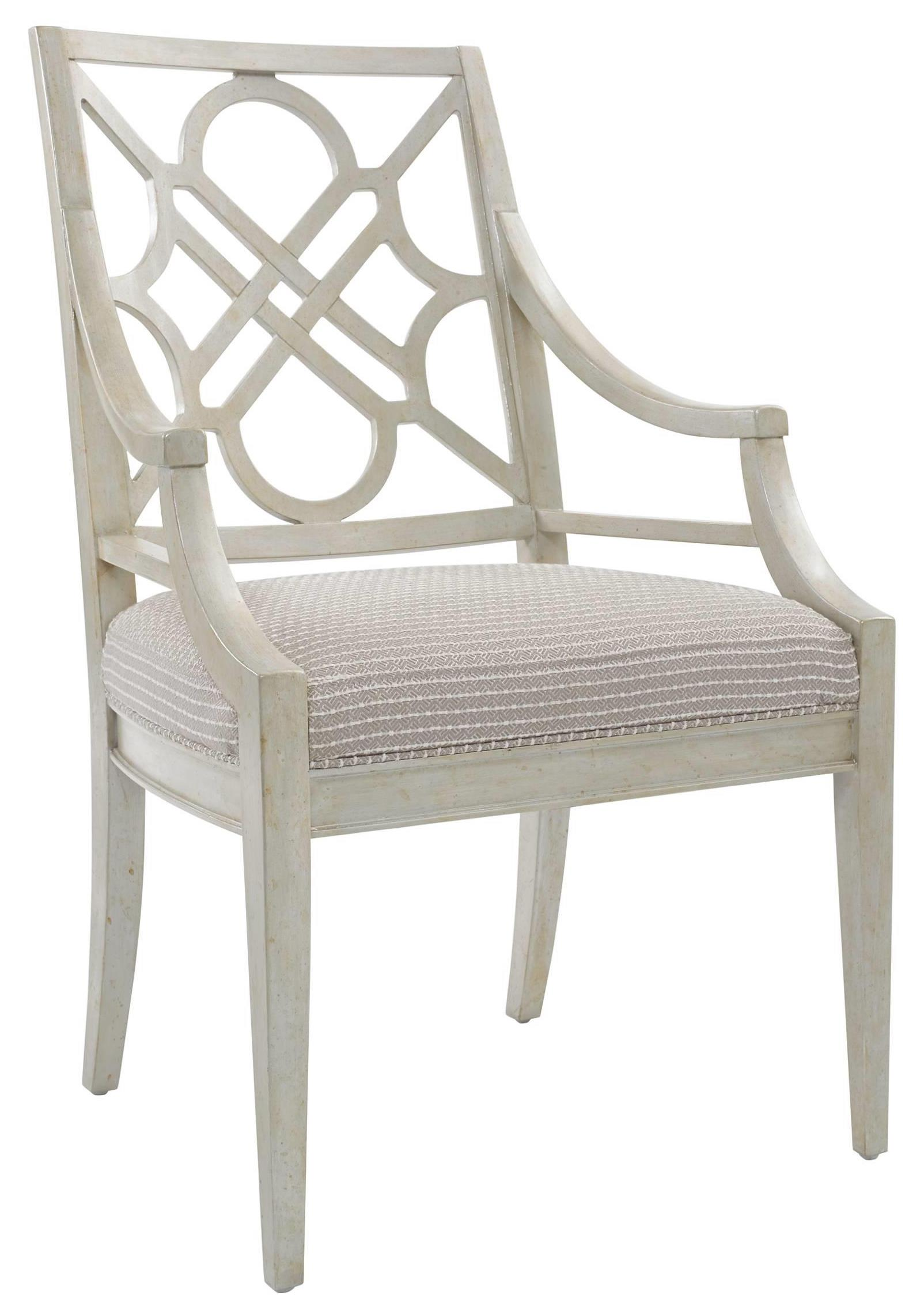 Stanley Furniture Fairlane Wood Arm Chair - Item Number: 417-21-70