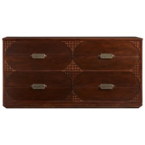 Stanley Furniture Havana Crossing Copa Colonial Dresser