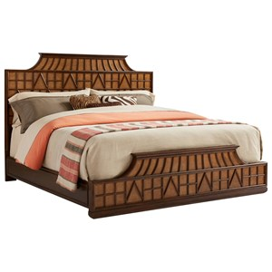 Stanley Furniture Havana Crossing King Amistad Fretwork Bed