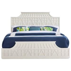 Stanley Furniture Havana Crossing Queen Amistad Fretwork Bed
