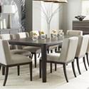 """Stanley Furniture Horizon 76"""" Rectangular Dining Table - Item Number: 831-G1-36"""