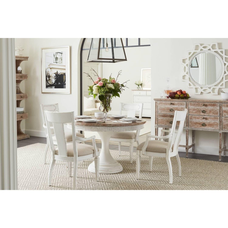 Stanley Furniture Virage Dining Room Set: Stanley Furniture Juniper Dell 5-Piece Round Dining Table