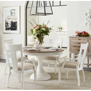 Stanley Furniture Juniper Dell 5-Piece Round Dining Table Set