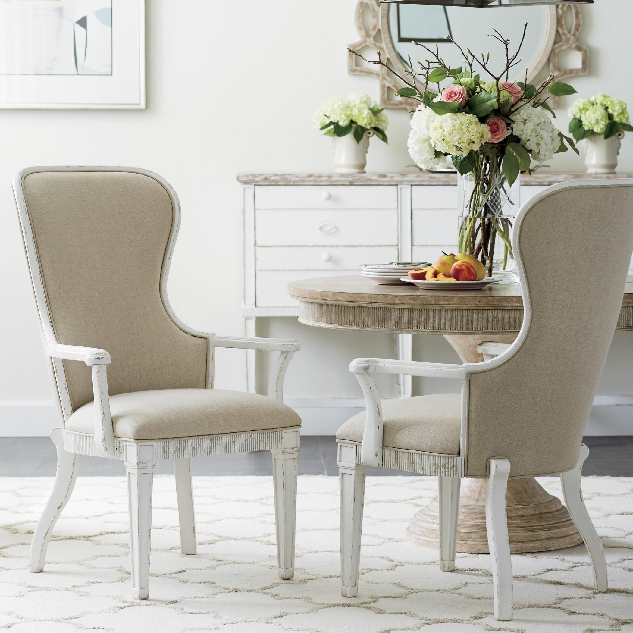 Stanley Furniture Juniper Dell 3-Piece Round Dining Table Set ...