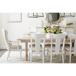 Stanley Furniture Juniper Dell 9-Piece Dining Table Set