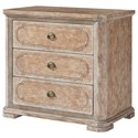 Stanley Furniture Juniper Dell Bachelor's Chest with Routed Pattern on Drawer Fronts