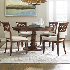5-Piece 54 Inch Round Dining Table Set