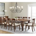 Stanley Furniture Old Town 9-Piece Rectangular Dining Table Set - Item Number: 935-11-36+2x70+6x60