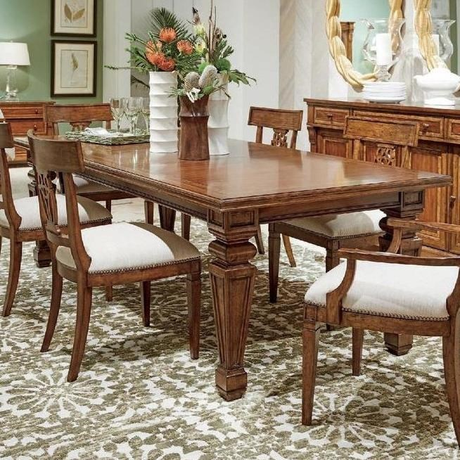 Old Town Rectangular Dining Table by Stanley Furniture at Belfort Furniture