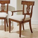 Stanley Furniture Old Town Wood Back Arm Chair - Item Number: 935-11-70