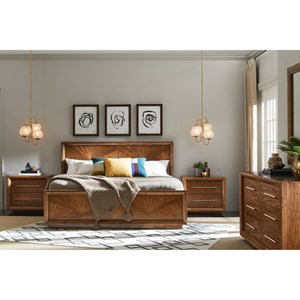 Stanley Furniture Panavista Queen Bedroom Group
