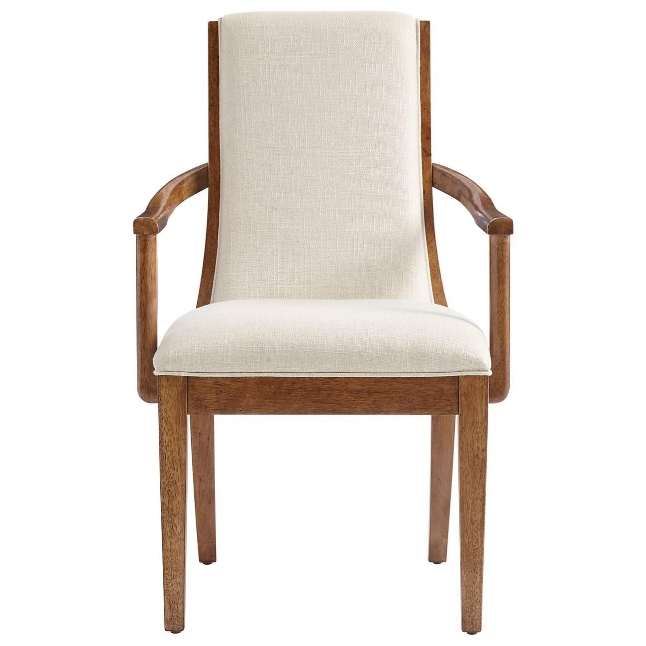 Stanley Furniture Panavista Madagascar Arm Chair - Item Number: 704-11-75