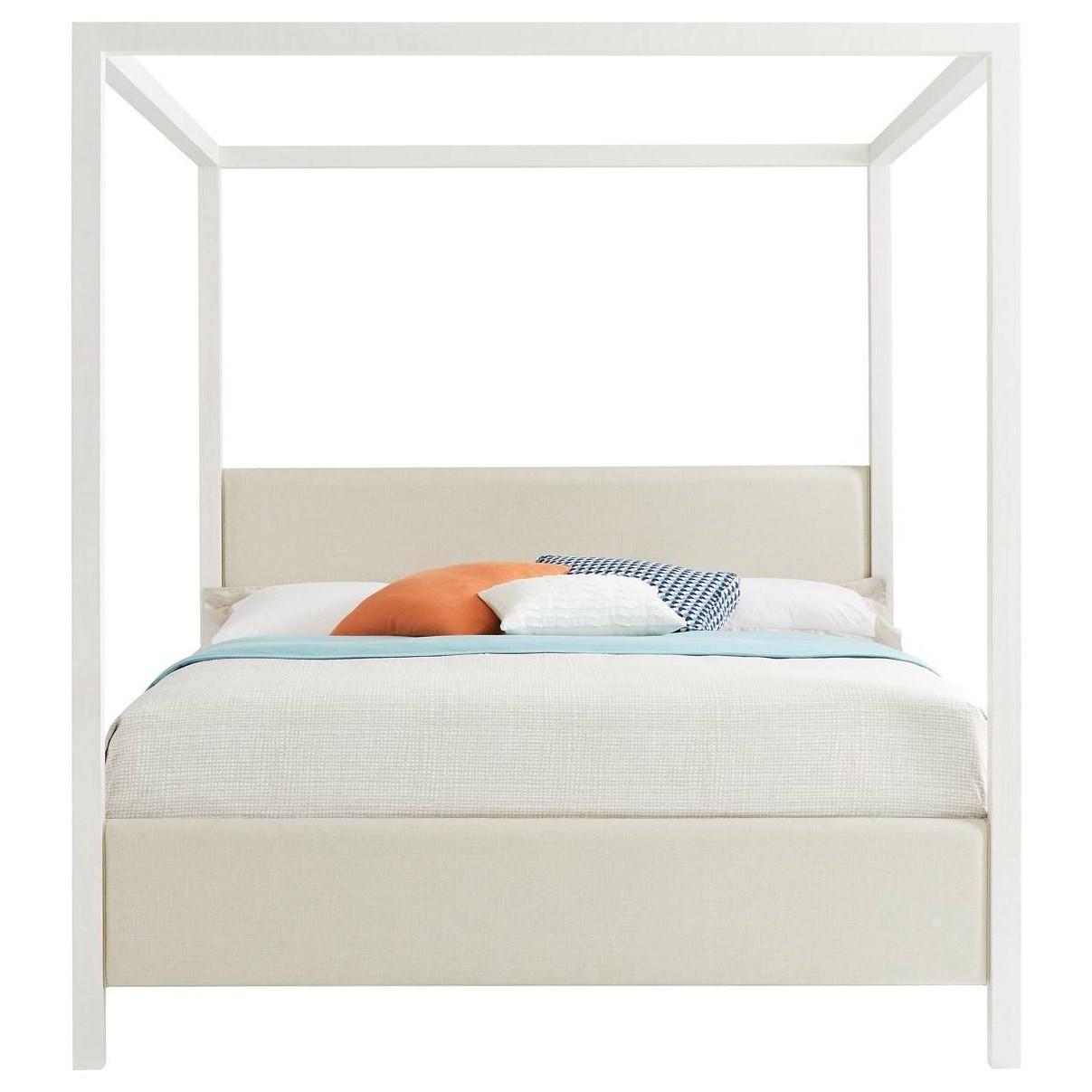 Stanley Furniture Panavista Queen Archetype Canopy Bed - Item Number: 704-23-42