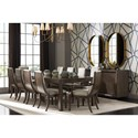 Stanley Furniture Panavista Formal Dining Room Group - Item Number: 704-3 Dining Room Group 2