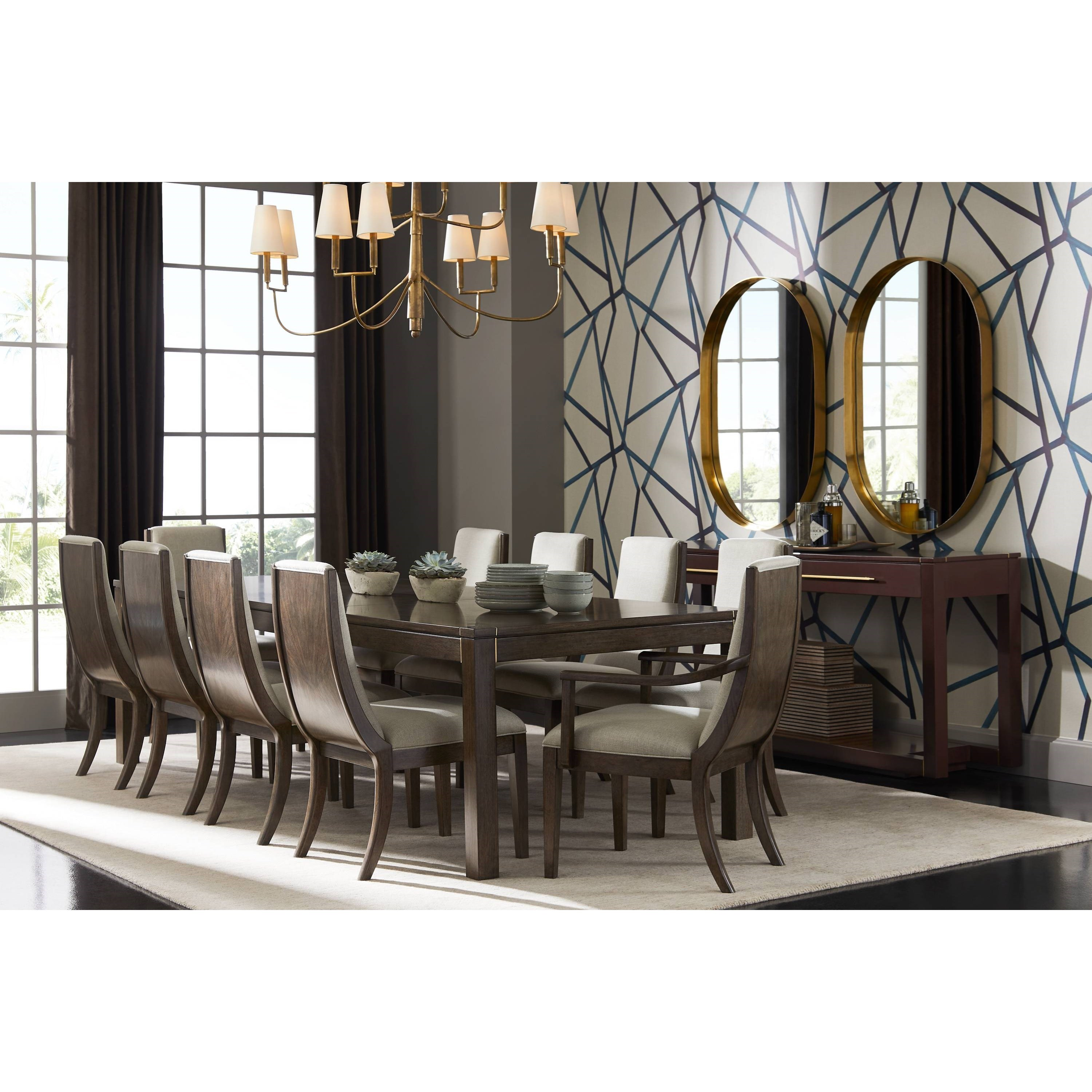 Panavista Formal Dining Room Group By Stanley Furniture At Dunk Bright