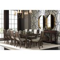 Stanley Furniture Panavista Formal Dining Room Group - Item Number: 704-3 Dining Room Group 3