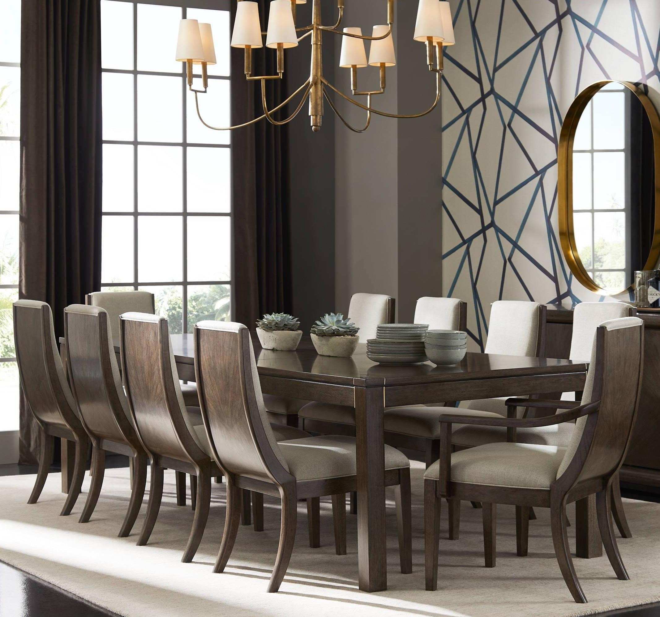 Dining Room Set For 2: Panavista 11-Piece Archetype Dining Table Set